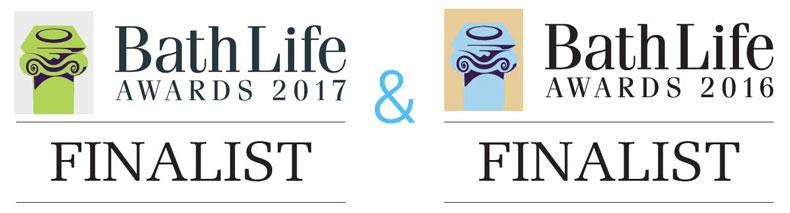 Bath Life Finalist 2017 & 2016