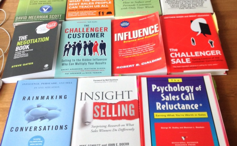 Top 12 Recommended Books for Sales People