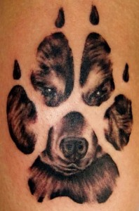coyote-wolf-paw-print-and-wolf-head-tattoo (1)