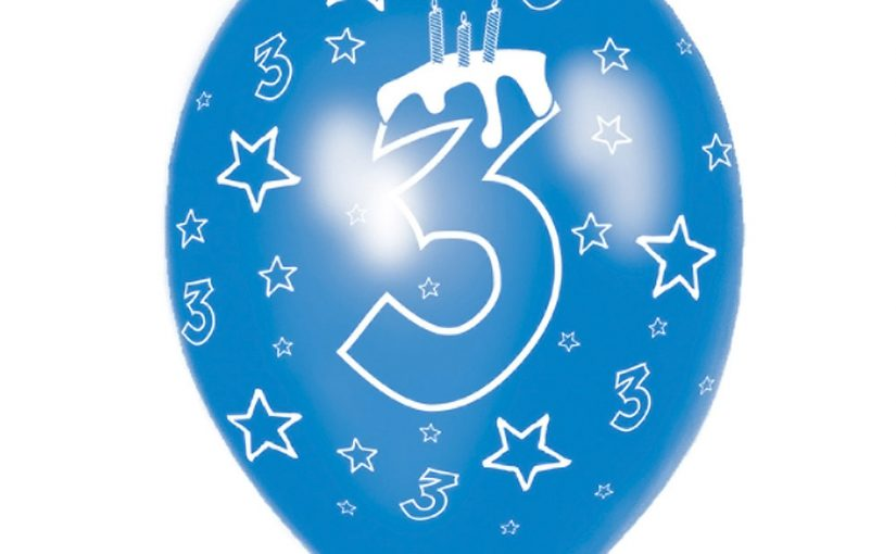 Happy 3rd Birthday SerialTrainer7 Ltd